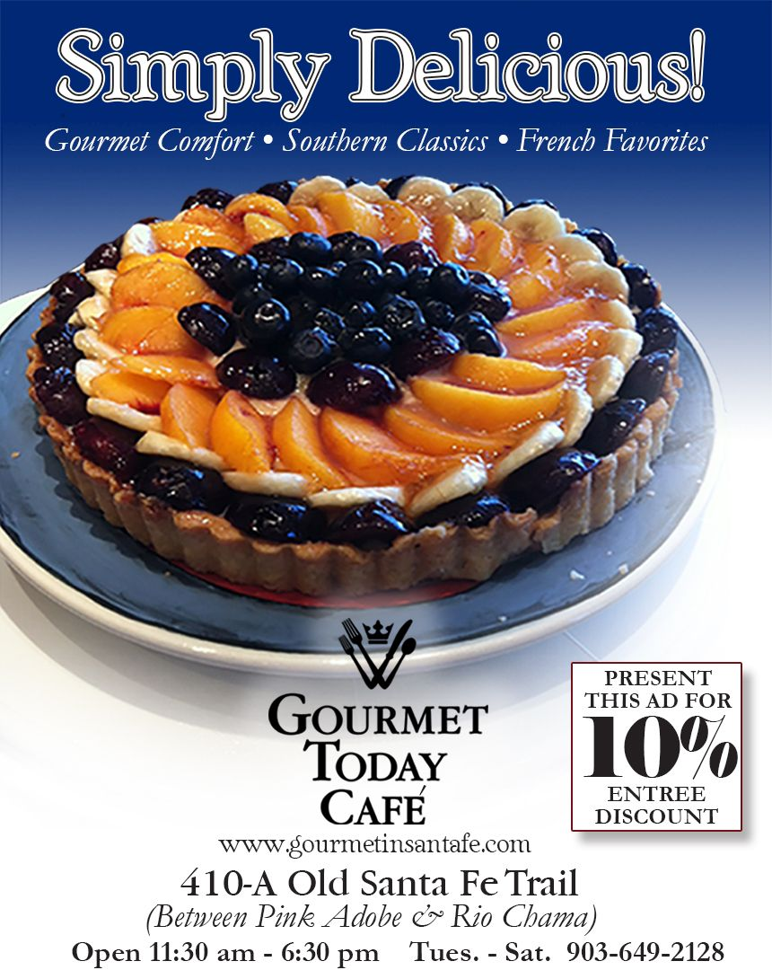 Gourmet Today ad