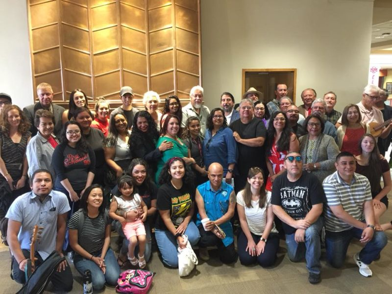UNM Chicana and Chicano Studies Department members