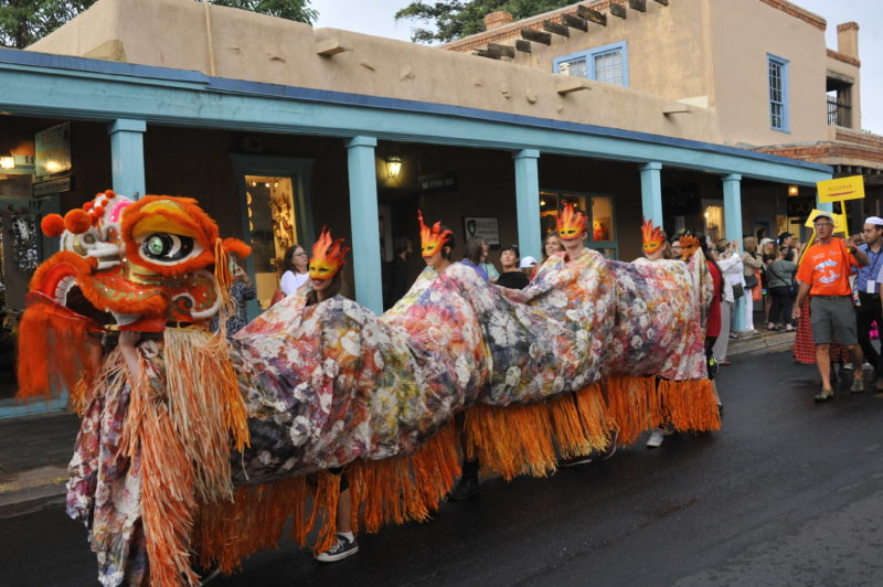 The International Folk Arts Market in Santa Fe is considered one of the world's top such events.